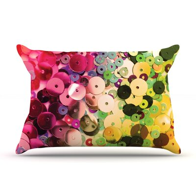 Spots by Louise Machado Featherweight Pillow Sham Size: King, Fabric: Woven Polyester