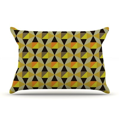 Onyx by Louise Machado Featherweight Pillow Sham Size: King, Fabric: Woven Polyester