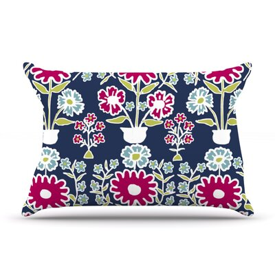 Turkish Vase by Laura Nicholson Featherweight Pillow Sham Size: Queen, Fabric: Woven Polyester