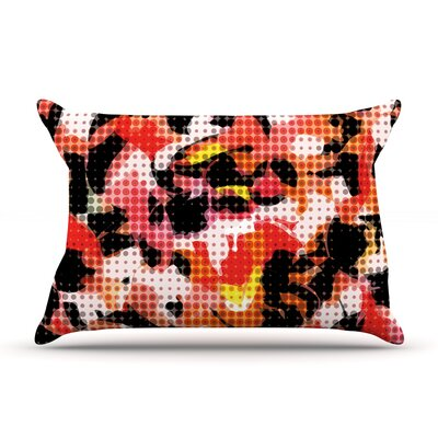 Matthias Hennig Camouflage Grid Pillow Case