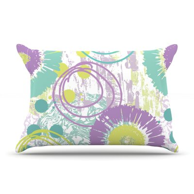 Splatter by Chickaprint Featherweight Pillow Sham Size: Queen, Fabric: Woven Polyester
