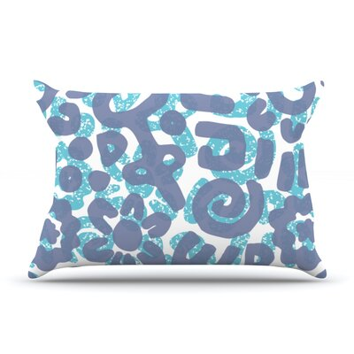 Tribus by Chickaprint Featherweight Pillow Sham Size: King, Fabric: Woven Polyester