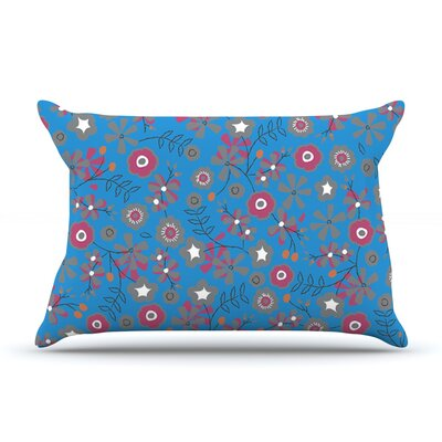 Meadow by Michelle Drew Featherweight Pillow Sham Size: King, Fabric: Woven Polyester
