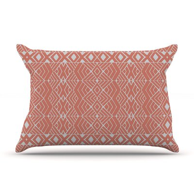 Aztec Roots by Pom Graphic Design Featherweight Pillow Sham Size: Queen, Fabric: Woven Polyester