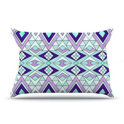 Gems by Pom Graphic Design Featherweight Pillow Sham Size: King, Fabric: Woven Polyester