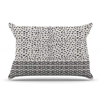 Wind Night by Pom Graphic Design Featherweight Pillow Sham Size: King, Color: White, Fabric: Woven Polyester