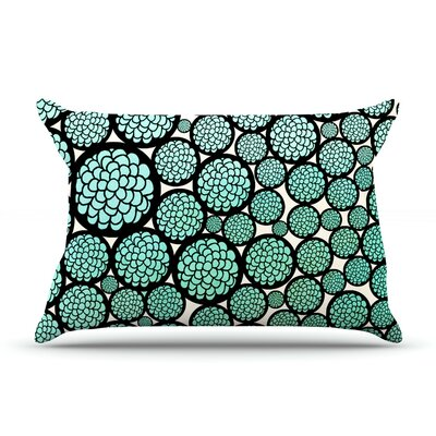 Pom Graphic Design Blooming Trees Circles Pillow Case