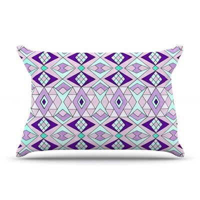 Geometric Flow by Pom Graphic Design Featherweight Pillow Sham Size: King, Fabric: Woven Polyester