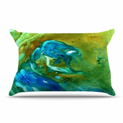 Hurricane by Rosie Brown Featherweight Pillow Sham Size: King, Fabric: Woven Polyester