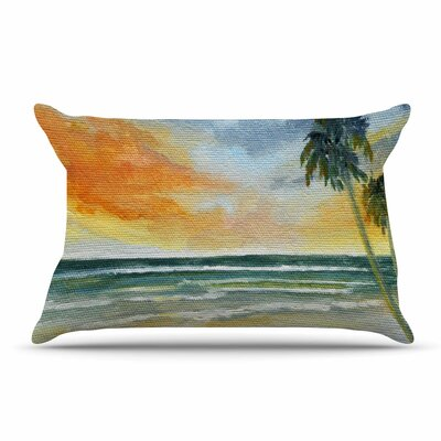 End of Day by Rosie Brown Featherweight Pillow Sham Size: King, Fabric: Woven Polyester