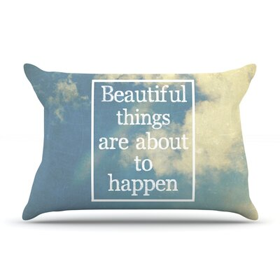 Rachel Burbee Beautiful Things Sky Clouds Pillow Case