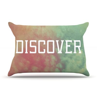Discover by Rachel Burbee Featherweight Pillow Sham Size: King, Fabric: Woven Polyester