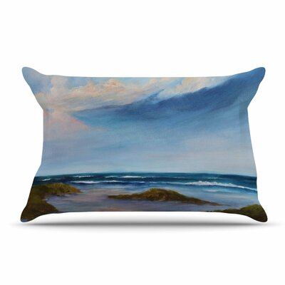 Rosie Brown Summer Showers Beach Pillow Case