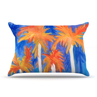 Florida Autumn by Rosie Brown Featherweight Pillow Sham Size: Queen, Fabric: Woven Polyester
