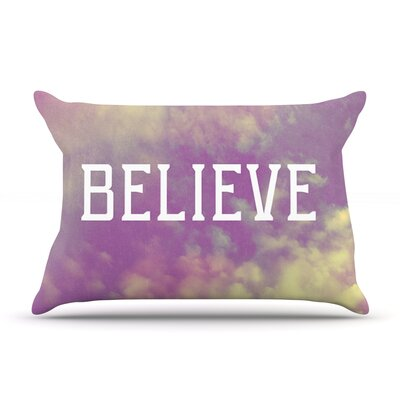 Rachel Burbee Believe Clouds Pillow Case