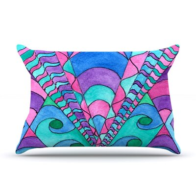 Gatsby Inspired by Rosie Brown Featherweight Pillow Sham Size: King, Fabric: Woven Polyester
