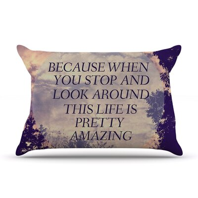 Rachel Burbee 'Pretty Amazing' Sky Pillow Case