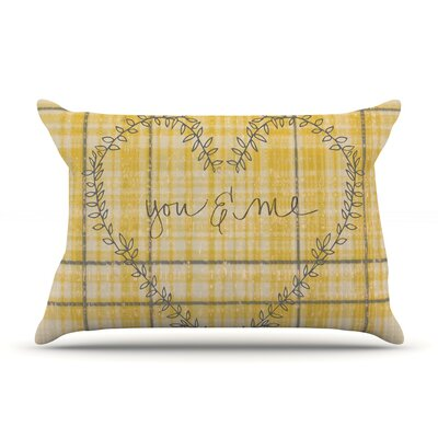 Robin Dickinson You & Me Pillow Case