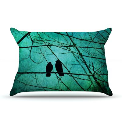 Robin Dickinson Smitten Pillow Case