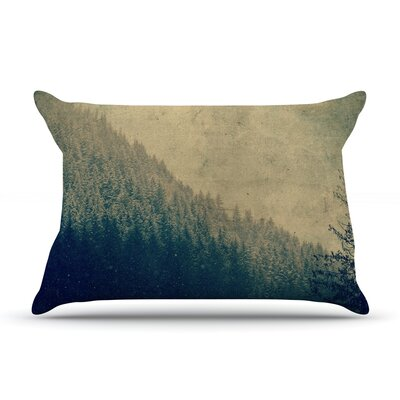 Robin Dickinson Any Road Will Do Mountain Tree Pillow Case