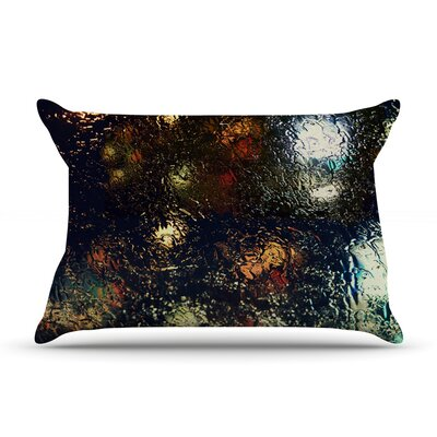 Blinded by Robin Dickinson Featherweight Pillow Sham Size: King, Fabric: Woven Polyester