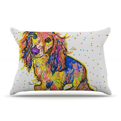 Leela by Rebecca Fischer Featherweight Pillow Sham Size: King, Fabric: Woven Polyester