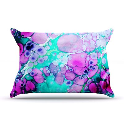 Dreaming in Color by Sylvia Cook Featherweight Pillow Sham Size: King, Fabric: Woven Polyester