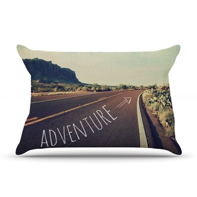 Adventure by Sylvia Cook Featherweight Pillow Sham Size: King, Fabric: Woven Polyester