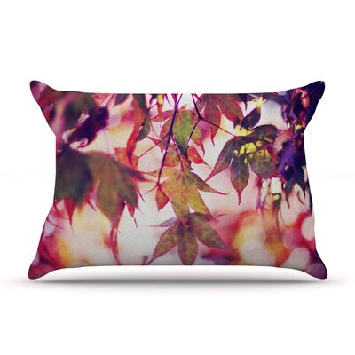 On Fire by Sylvia Cook Featherweight Pillow Sham Size: King, Fabric: Woven Polyester