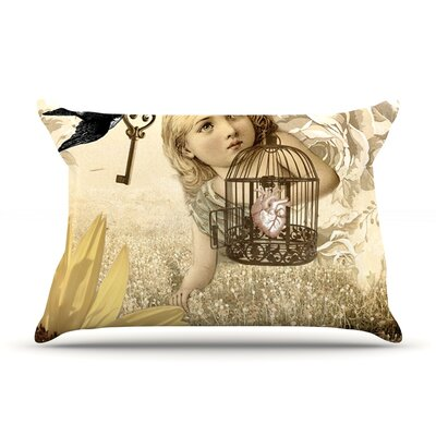Key by Suzanne Carter Featherweight Pillow Sham Size: Queen, Fabric: Woven Polyester