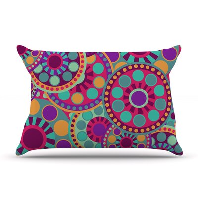Valencia by Nika Martinez Featherweight Pillow Sham Size: Queen, Fabric: Woven Polyester