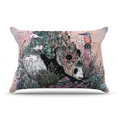 Mat Miller Land Of The Sleeping Giant Panda Pillow Case
