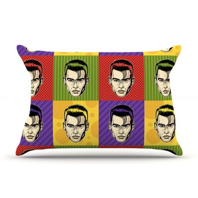 Johnny Depop by Roberlan Featherweight Pillow Sham Size: King, Fabric: Woven Polyester