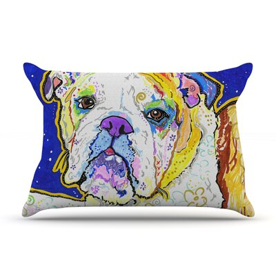 Mavis by Rebecca Fischer Featherweight Pillow Sham Size: Queen, Fabric: Woven Polyester