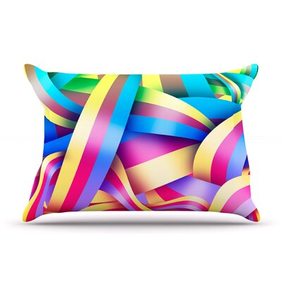 Roberlan Medal Rainbow Lines Pillow Case