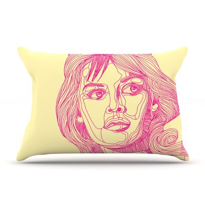 Roberlan Bardot Girl Pillow Case