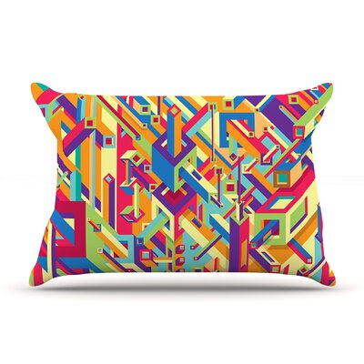 Roberlan Buracos Abstract Pillow Case