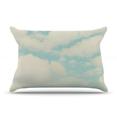 Clouds by Sylvia Cook Featherweight Pillow Sham Size: King, Fabric: Woven Polyester