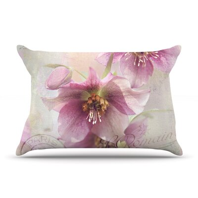 Hellabore by Sylvia Cook Featherweight Pillow Sham Size: Queen, Fabric: Woven Polyester