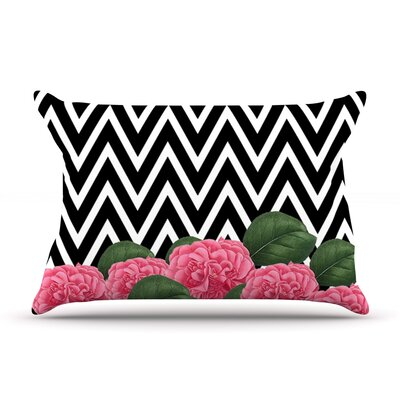 Camellia by Suzanne Carter Featherweight Pillow Sham Size: King, Fabric: Woven Polyester