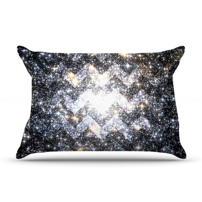Messier Chevron by Suzanne Carter Featherweight Pillow Sham Size: Queen, Fabric: Woven Polyester