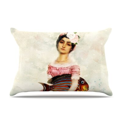 The Gardener by Suzanne Carter Featherweight Pillow Sham Size: King, Fabric: Woven Polyester