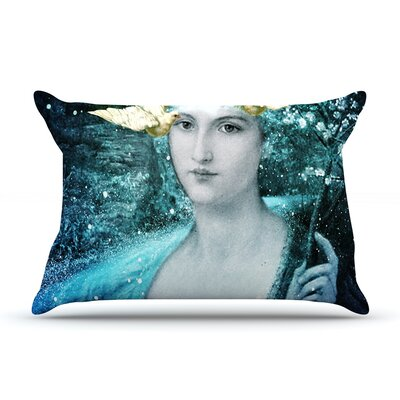 Adorned by Suzanne Carter Featherweight Pillow Sham Size: Queen, Fabric: Woven Polyester