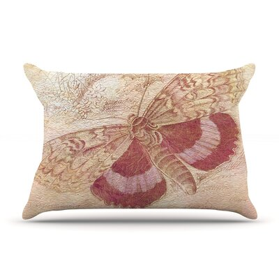Vintage Garden by Suzanne Carter Featherweight Pillow Sham Size: King, Fabric: Woven Polyester