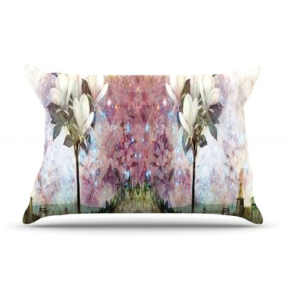 The Magnolia Trees by Suzanne Carter Featherweight Pillow Sham Size: Queen, Fabric: Woven Polyester
