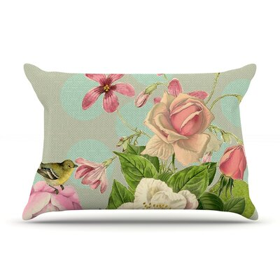 Vintage Garden Cush by Suzanne Carter Featherweight Pillow Sham Size: King, Fabric: Woven Polyester