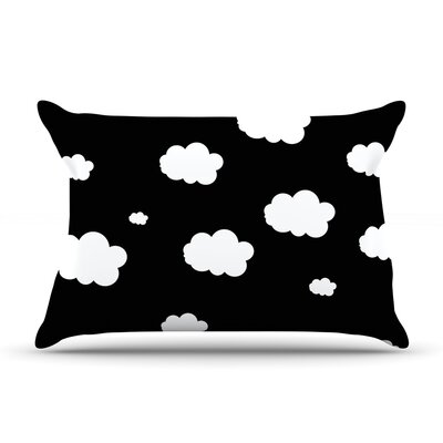 Clouds by Suzanne Carter Featherweight Pillow Sham Size: King, Fabric: Woven Polyester