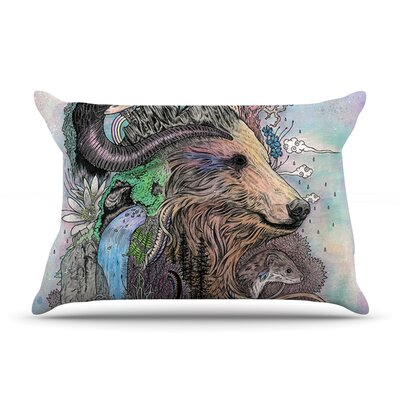 Mat Miller Forest Warden Bear Nature Pillow Case