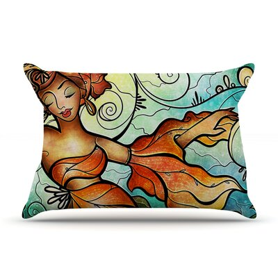 Cubana by Mandie Manzano Featherweight Pillow Sham Size: Queen, Fabric: Woven Polyester