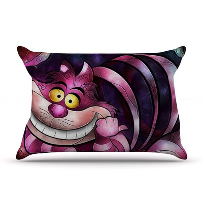 Mandie Manzano Chesire Cat Pillow Case